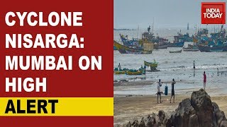 Covid-Hit Mumbai On High Alert, Cyclone Nisarga To Make Landfall To Tommorrow - Download this Video in MP3, M4A, WEBM, MP4, 3GP