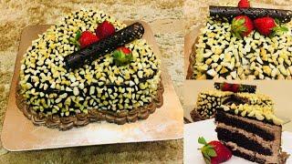 Choco Nuts Cake Without Oven || ഓവൻ ഇല്ലാതെ ഒരടിപൊളി ചോക്കോ നട്സ് കേക്ക് തയ്യാറാക്കാം...