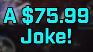 A $75.99 Joke!