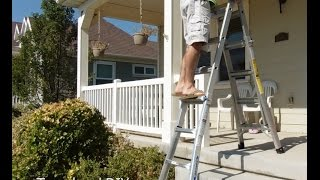 How to use Gorilla Ladders MPX 26' Aluminum Multi-Position Ladder