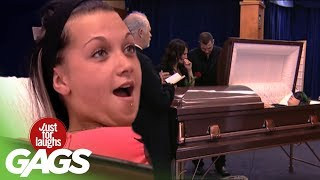 Creepy Coffin Pranks - Best of Just For Laughs Gags