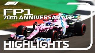 70th Anniversary Grand Prix: FP1 Highlights