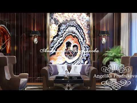 Дизайн интерьера в стиле Ар-деко. Роскошный интерьер частного дома от Анжелики Прудниковой.