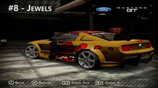 Need For Speed Most Wanted Beta Blacklist Cars
