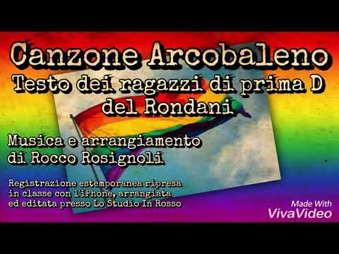 , title : 'Canzone Arcobaleno - prima D del Rondani feat. R. Rosignoli'