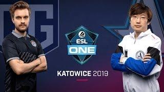 Dota 2 - OG vs. Aster - Game 2 - LB Ro4a #1 - ESL One Katowice 2019