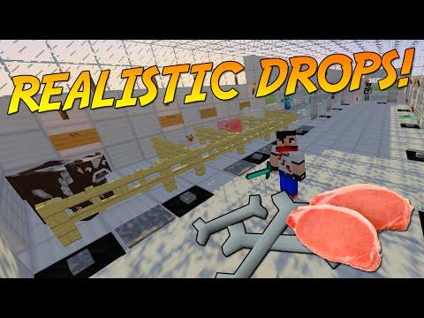 REALISTIC MOB DROPS! [1.9] | Minecraft Mod Showcase!