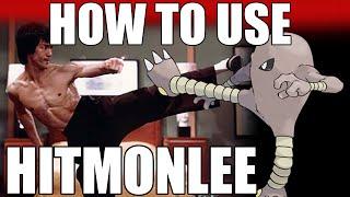 Hitmonlee  - (Pokémon) - How To Use: Hitmonlee! Hitmonlee Strategy Guide! Pokemon