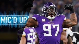 """Everson Griffen Mic'd Up vs. 49ers """"I Hope Y'all Brought Your Big Boy Pads!"""" 
