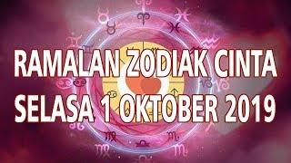 Ramalan Zodiak Cinta Selasa 1 Oktober 2019