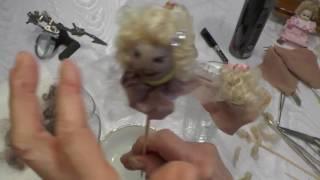 Puppenperücken selbst machen
