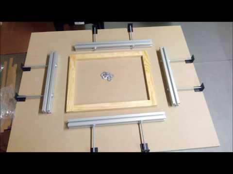 DIY- Esticador de Telas / ( Screen Stretcher ) Caseiro / Homemade