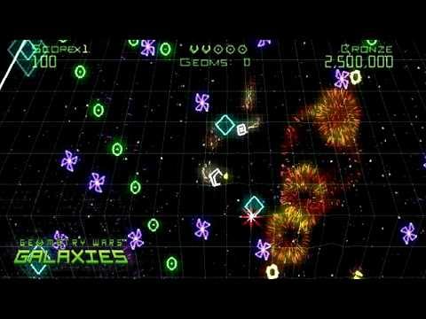 Видео № 0 из игры Geometry Wars: Galaxies (Б/У) [DS]
