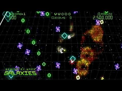 Видео № 0 из игры Geometry Wars: Galaxies [Wii]