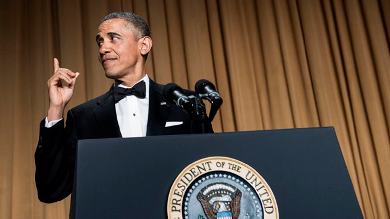 Obama Mocks Critics And Himself At White House Correspondent's Dinner thumbnail