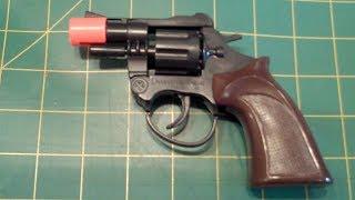 Make a BB Gun from a Cap Gun 200+ FPS