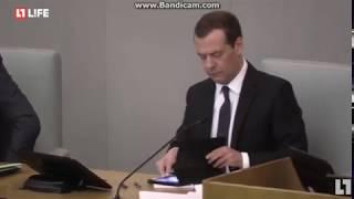 Путин назвал Медведева