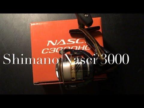 Shimano Nasci spinning reel review