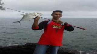 preview picture of video 'Mancing dipulau kecil tak berpenghuni, Casting, strike GT, Mantap!!'