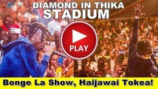 Diamond Platnumz Live Performance At Thika Stadium