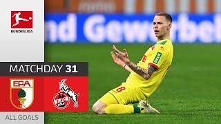 Augsburg 2-3 Koln Pekan 31