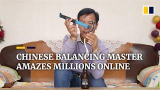 Chiński mistrz równoważenia zadziwia miliony w Internecie