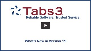 Vidéo de Tabs3 Software