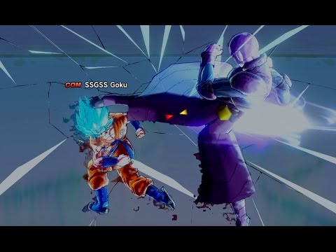 New hit/goku completely OP  :: DRAGON BALL XENOVERSE 2