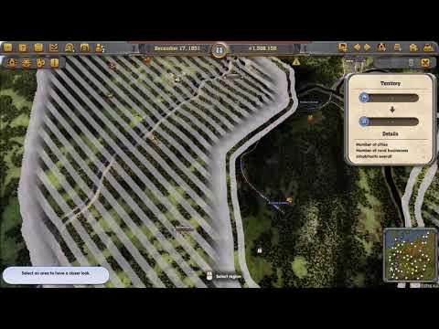 Railway Empire - Patchwork Scenario (Germany DLC) - Part Two