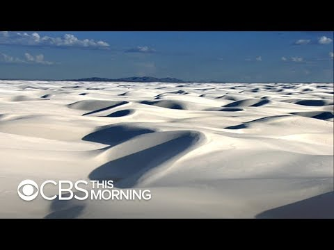 Heinrich proposal to make White Sands a national park