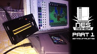 Making NES games with NESmaker - Part 1