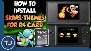How To Install Themes/Skins For Any R4 Card! (DS/DSi/3DS)