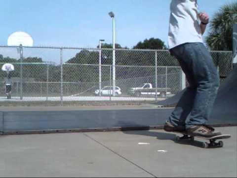 7 tricks at the new port richey skatepark