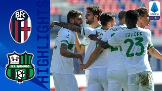 Bologna-Sassuolo 3-4, highlights