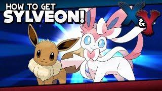 Leafeon  - (Pokémon) - Pokémon X and Y - How to Get Sylveon   Pokémon Amie Guide!