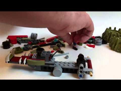 Vidéo LEGO Chima 70001 : La Croc' Griffeuse de Crawley
