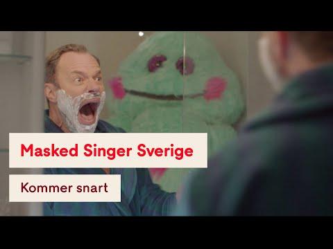 Video trailer för David Hellenius får oväntat besök i badrummet - Masked Singer Sverige