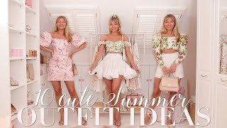 10 Summer Outfits (to hopefully actually wear outside!) ~ Freddy My Love