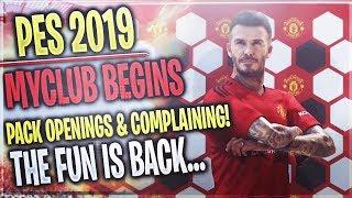 [TTB] PES 2019 - myClub Begins - Starter Packs, Black Balls, Complaining, & More!