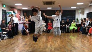 X4さんの『Party Up!!』を小学生ペアで踊ってみました☺︎
