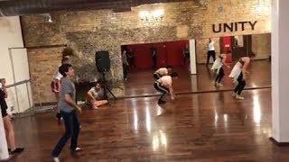 Joshua Rush Dance Class With Peyton Elizabeth Lee