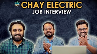 CHAY ELECTRIC JOB INTERVIEW | THE IDIOTZ | COMEDY VIDEO