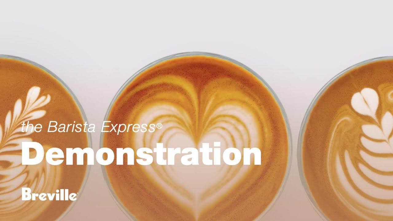 Breville Barista Express Make a Latte