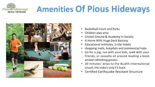 Live in a premium home | 9250002253 | in ATS Pious Hideways Noida