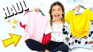 NO BUDGET Teen Clothes Haul | Shopping in LA  Zara H&M and Forever 21