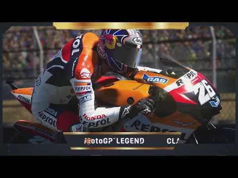 MotoGPバーチャルレース チャレンジ2 アンドレア・ドヴィチオーゾ(タイ)バーチャルレースのプレイの仕方動画