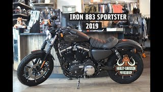 New Iron 883 Sportster Harley-Davidson 2019 black denim