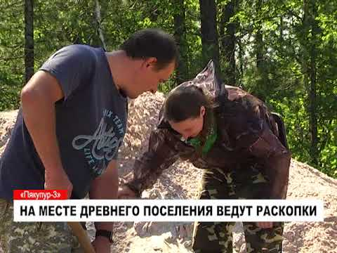Археологические раскопки поселения Пякупур 3 в Пуровском районе