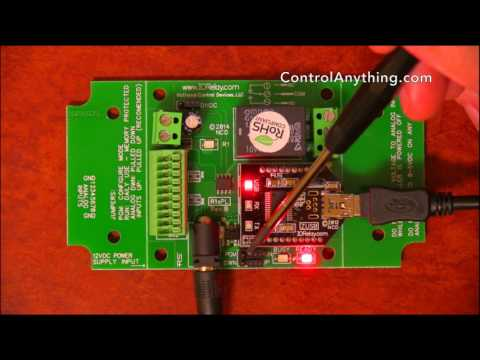 USB Relay Board 1-Channel 10A SPDT ProXR Lite Hardware Overview