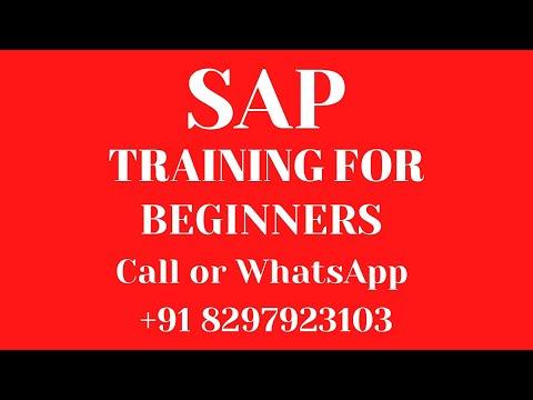 SAP SAP Training sap tutorial for beginners +91 7702843287 ...